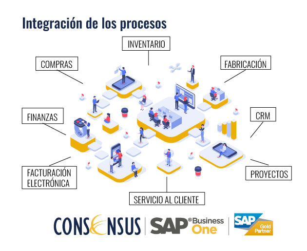 Integración de los procesos con SAP Business One